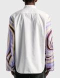 Raf Simons Extended Sleeves Boxy Shirt White Men