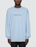 """Fuck Art, Make Tees """"Everything will be OK"""" L/S T-Shirt Picture"""