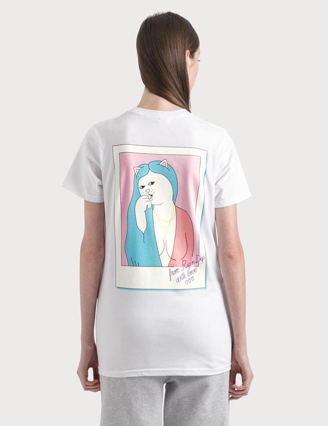 RIPNDIP Love Letter T-Shirt Black/black/egret Women