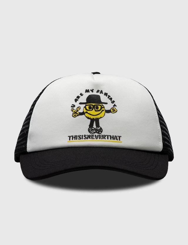 Thisisneverthat Goodman Mesh Trucker Cap Black Men