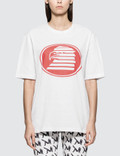 CALVIN KLEIN JEANS EST.1978 Modernist Logo Short Sleeve T-shirt Picture