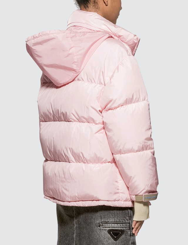 Prada Puffer Down Jacket Opaline Women