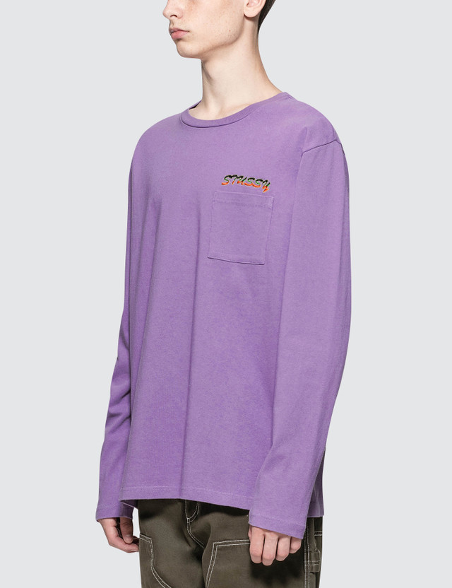 Stussy Leaves L/S Crewneck