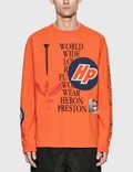 Heron Preston Reg Collage Long Sleeve T-Shirt Picutre