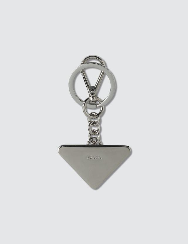 Prada Logo Key Chain
