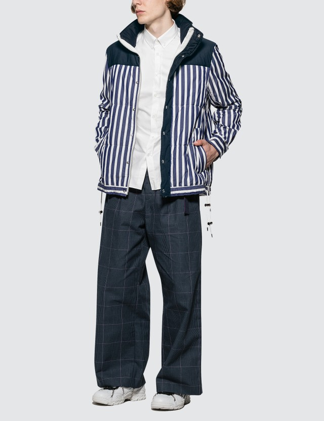 Sacai Dr. Woo Striped Shirting Shirt