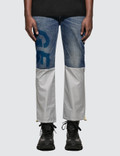 GEO Reconstructed Denim Pants Picture