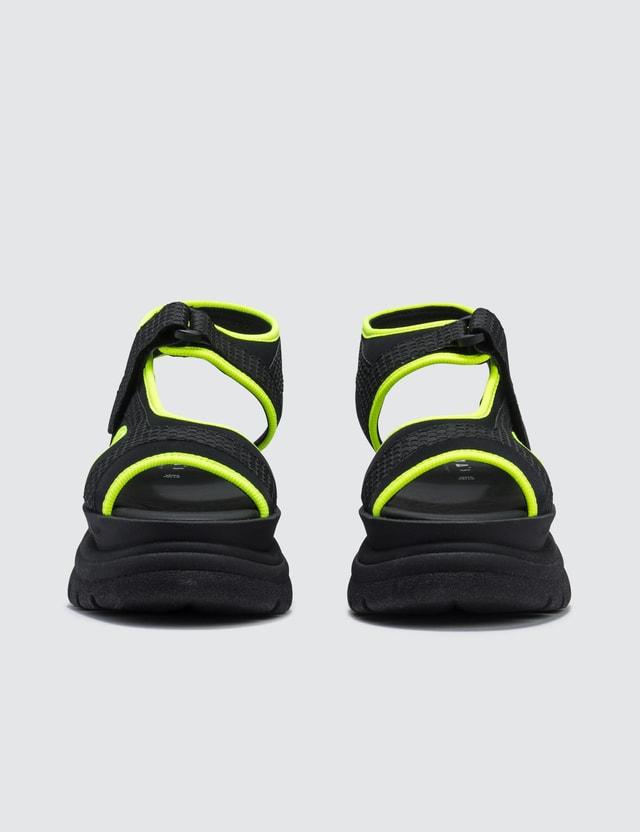 Joshua Sanders Yellow Spice Scuba Sandals