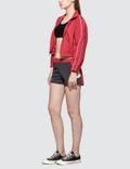 Calvin Klein Performance Side CLR Blk Short Gunmetal/bright White/racing Red Women