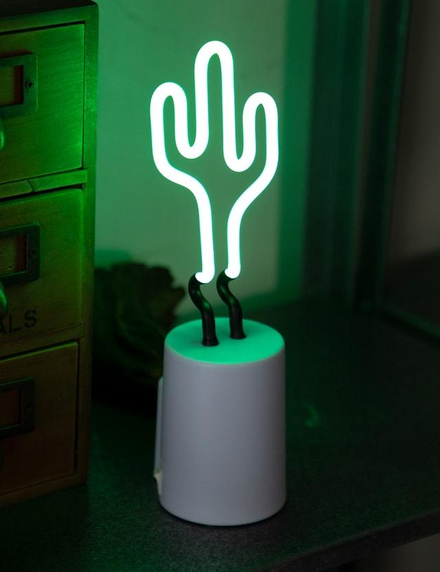 Sunnylife Cactus Neon Light Small Green Life