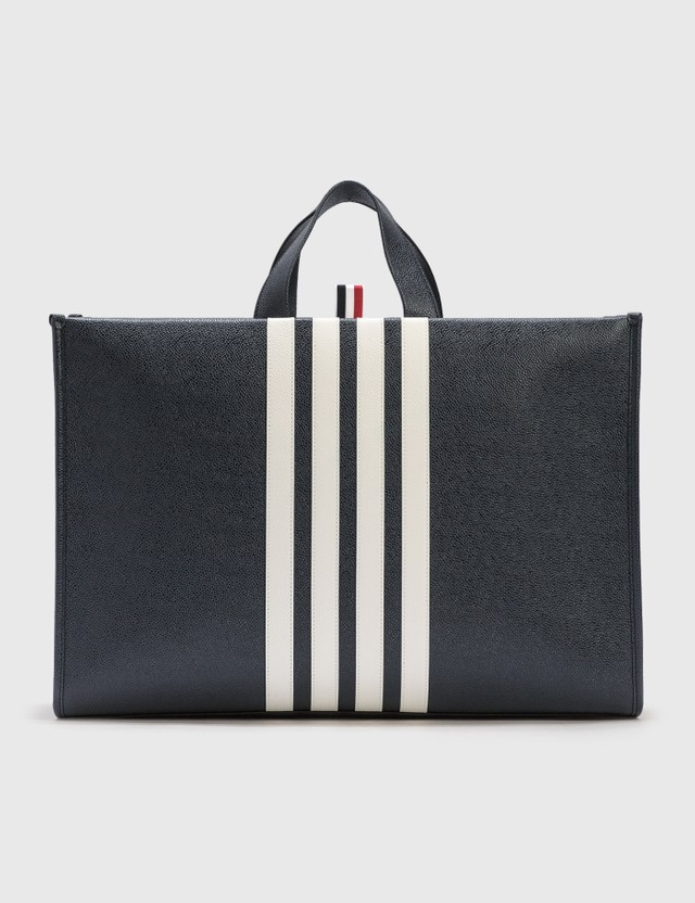 Thom Browne Squared Tote Bag Navy Men
