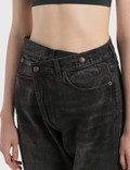 R13 Cross Over Jeans Jake Black Women