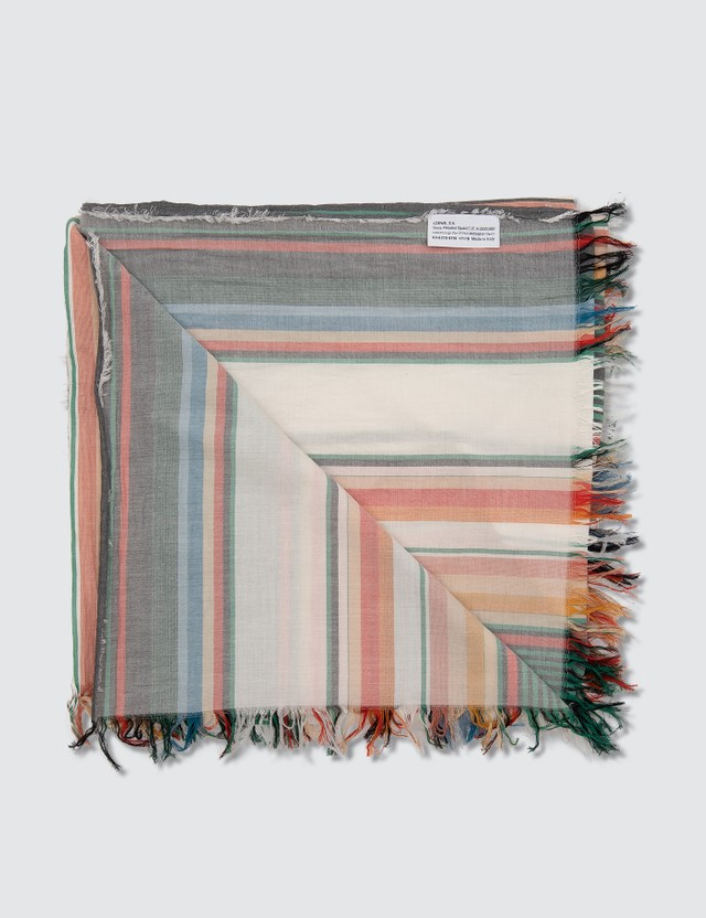 Loewe Colorful Stripes Scarf