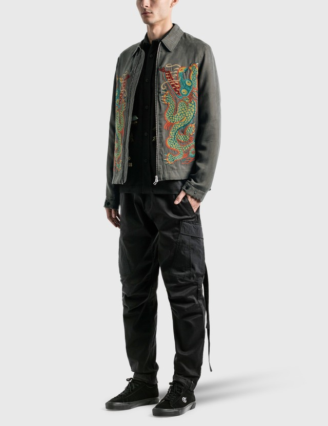 Maharishi Liberty Dragon Silk Jacket =e24 Men