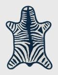 Jonathan Adler Navy Zebra Reversible Bathmat 사진