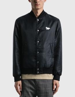 Maison Kitsune Reversible Bomber Jacket