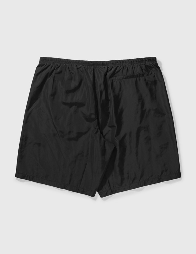 Palm Angels Curved Logo Swim Shorts