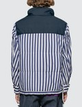 Sacai Dr. Woo Striped Shirting Shirt