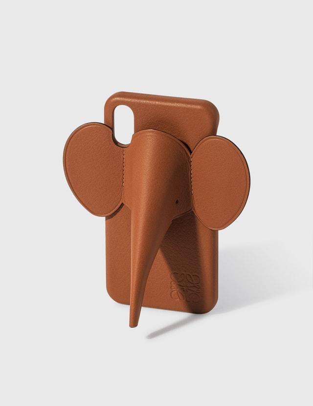 Loewe Elephant iPhone Cover X/Xs Tan Women
