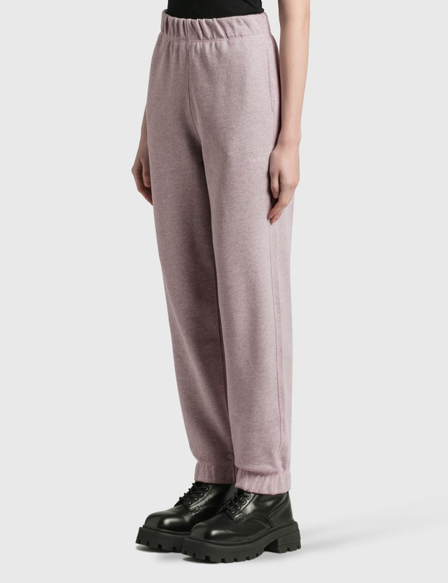 Ganni Isoli Sweatpants Pale Lilac Women