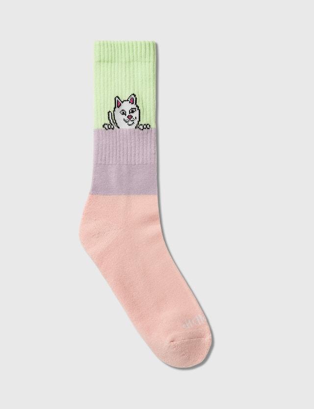 RIPNDIP Peeking Nerm Socks
