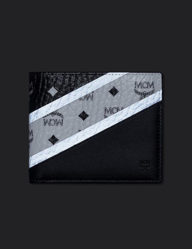 MCM M Move Visetos 2 Fold Wallet