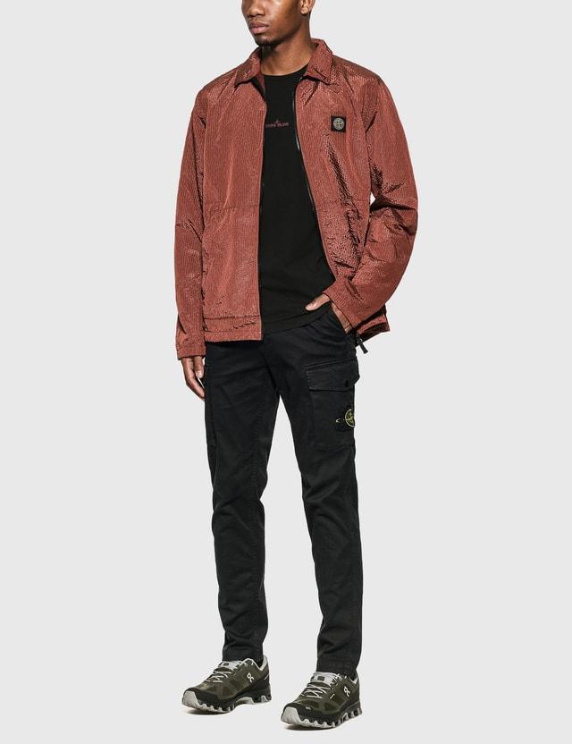 Stone Island Nylon Zip Overshirt Jacket
