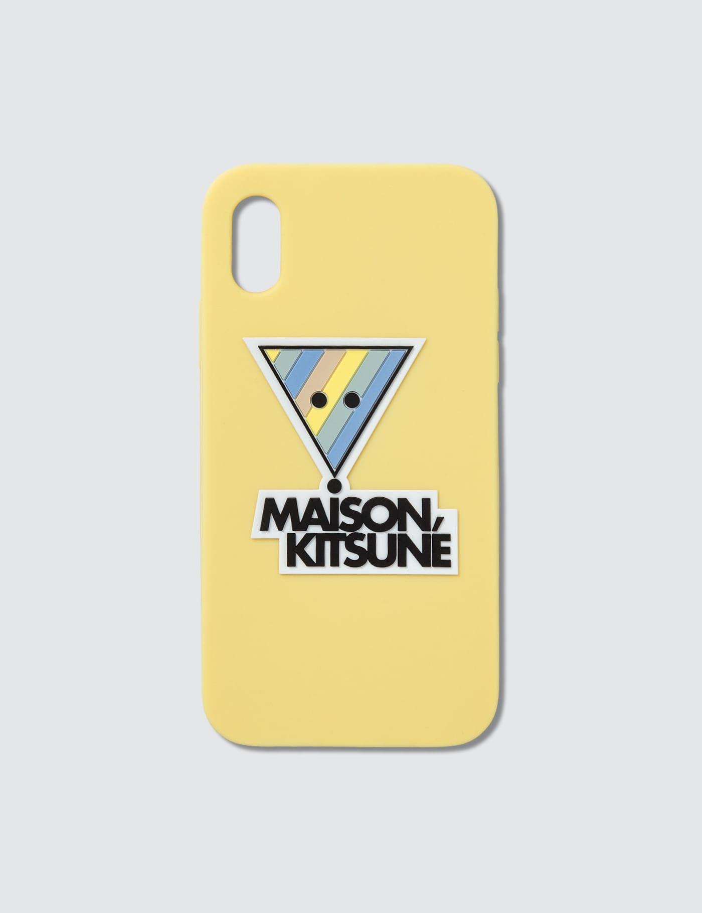 3D Rainbow Triangle Fox iPhone X Case