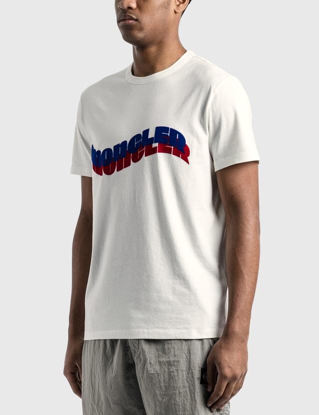 Moncler Wave Logo T-Shirt
