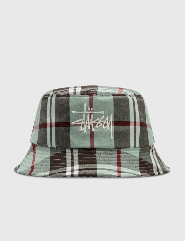 Stussy Big Logo Madra Bucket Hat Mint Women