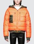 R13 Reversible Puffer Down Jacket