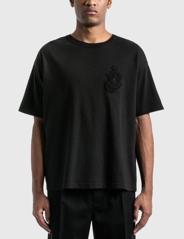 Moncler Genius Moncler Genius x JW Anderson Logo T-Shirt Black Men