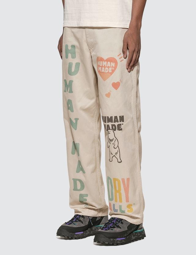 Human Made Military Print Chino Pants