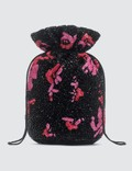 Ganni Hand Beaded Drawstring Bag Picutre