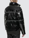 Champion Reverse Weave Nylon Shiny Puff Jacket