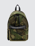 Faith Connexion Camo Chain Detail Backpack Picture