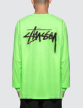 Stussy Camo Stock Pig. Dyed Pkt L/S T-Shirt Picture
