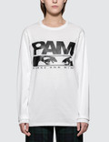 Perks and Mini P.a.maiden Logo Eyes Long Sleeve T-shirt Picture