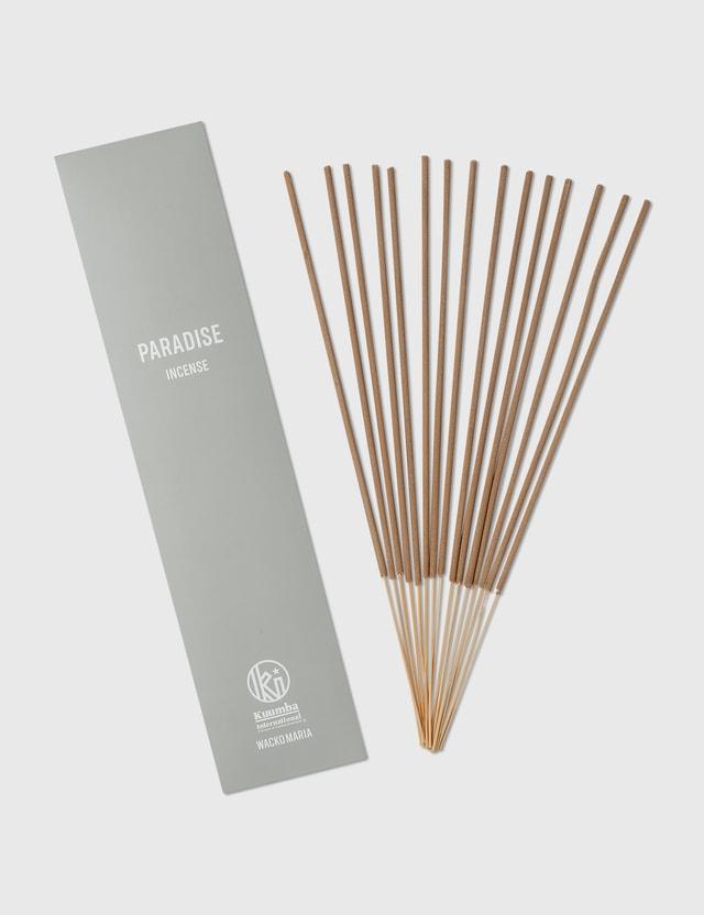 "Wacko Maria Wacko Maria X Kuumba Stick Incense ""Paradise"" Grey Unisex"