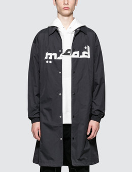 Undercover Skull Long Coach Jacket
