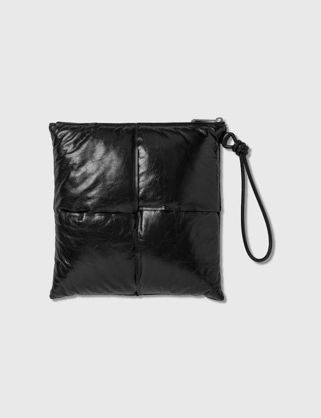 Bottega Veneta Maxi Intreccio Calf Leather Pouch