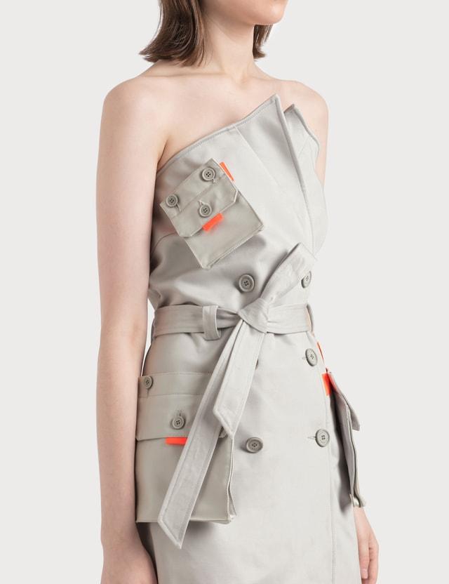 Heron Preston Trench Dress
