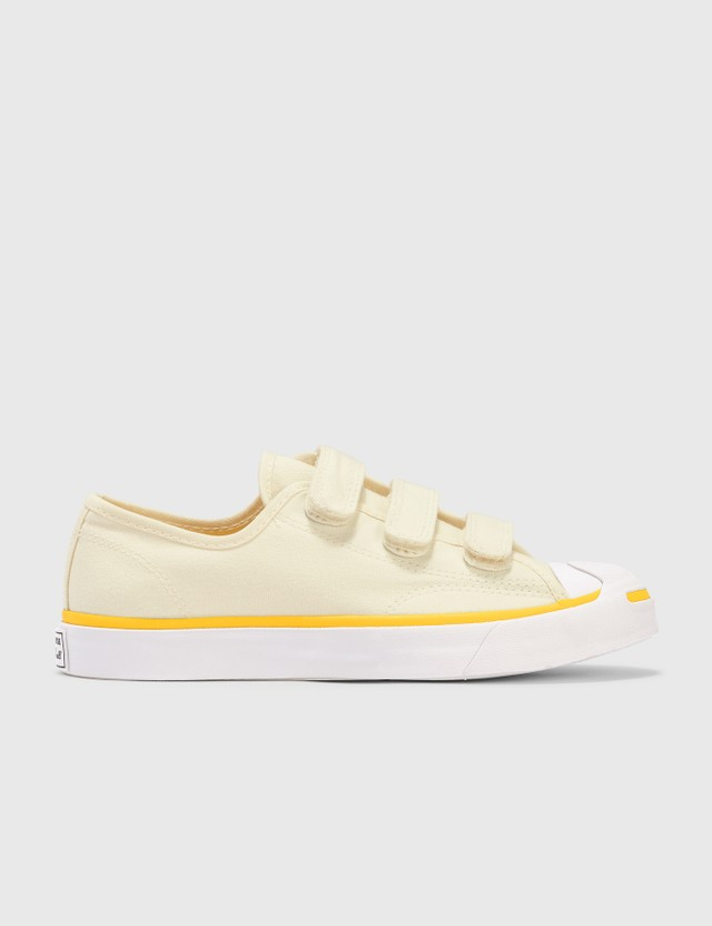 Converse Jack Purcell 3V Egret/white/speed Yellow Women