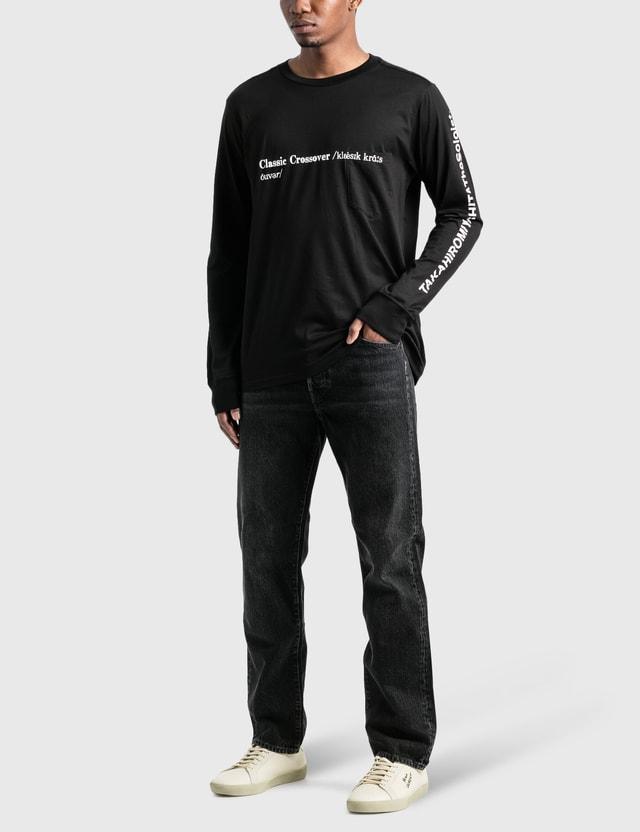 Takahiromiyashita Thesoloist Classic Crossover Long Sleeve T-Shirt Black Men