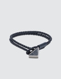 Prada Logo Leather Bracelet Picutre