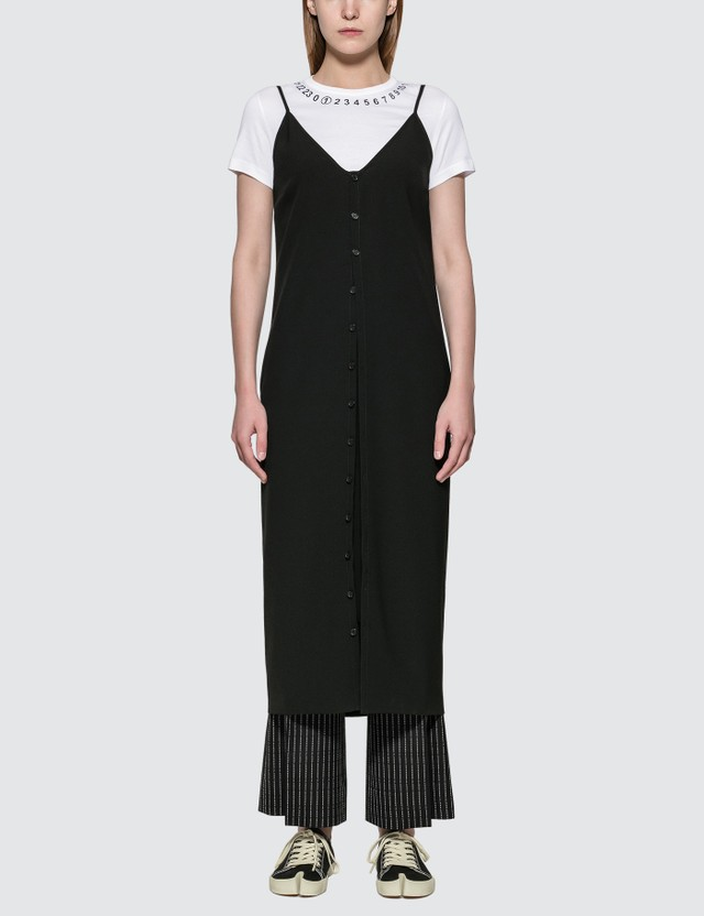 Maison Margiela Satin Button Dress