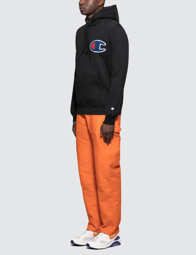 Champion Japan Patched C Logo Hoodie