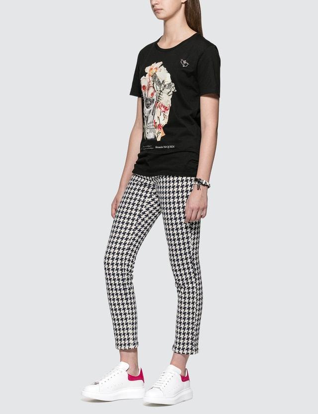 Alexander McQueen Floral Skull Print T-shirt