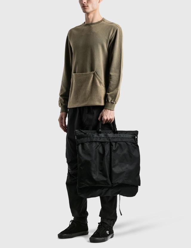 Maharishi Heavy Nylon Helmet Bag