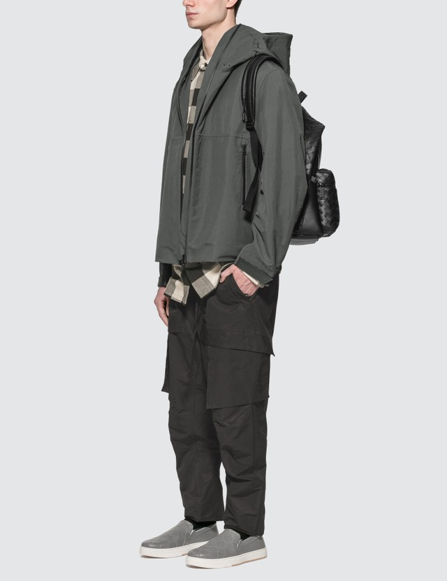 Bottega Veneta Nylon Cargo Pants